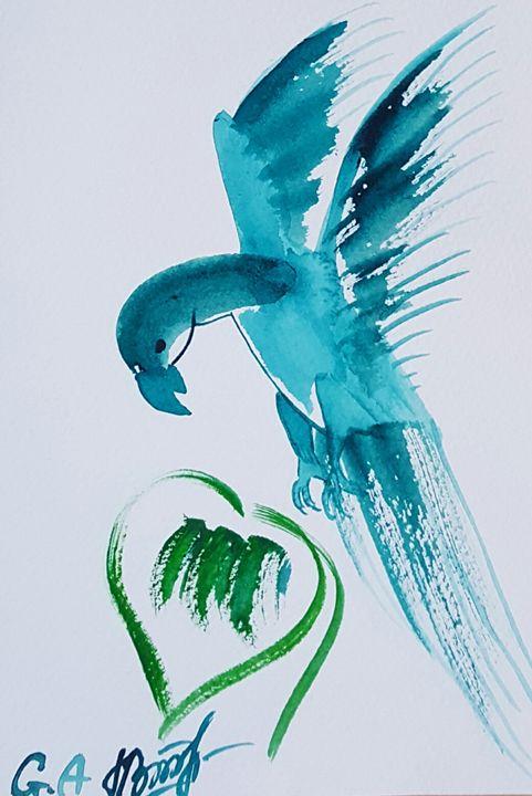 Bird - ArtAnnaGogoleva