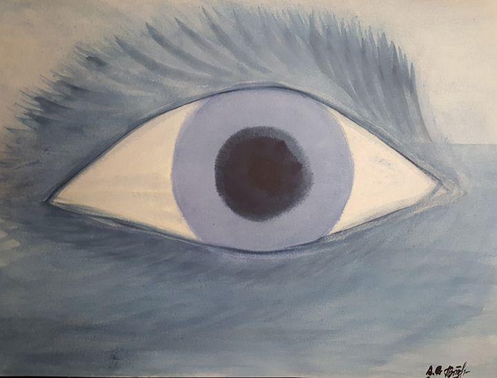 All-seeing eye of the sea - ArtAnnaGogoleva