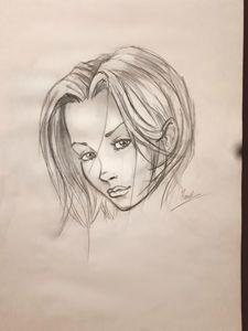 Esquisse femme