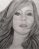 "11X x 14"" Mariah Carey Original"
