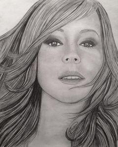 """Mariah Carey 11"""" x 14X"""