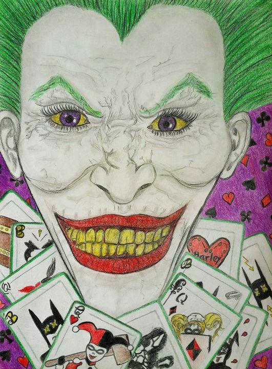 The Joker - Bobbies Artsy Adventures