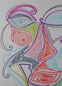 Doodled Head