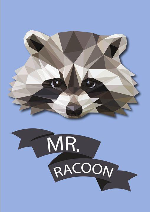 Mr.Racoon - Eimaza Creative