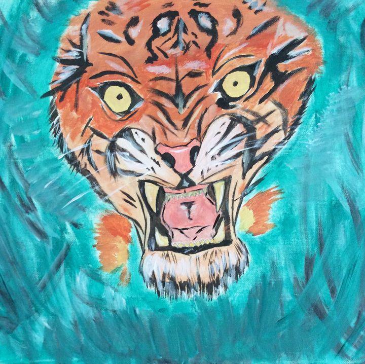 Tiger love - Derk Dillon
