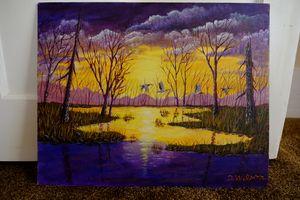 Purple Evening Sky