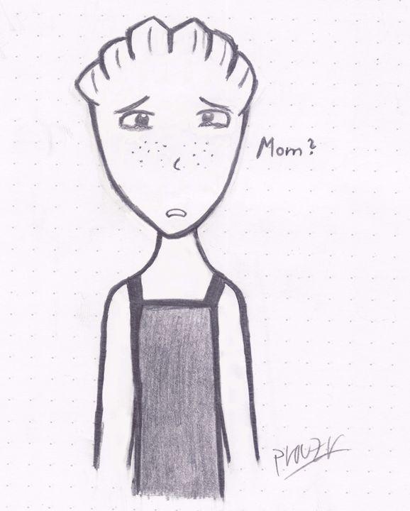 Mom ? - Mass Effect Drawings