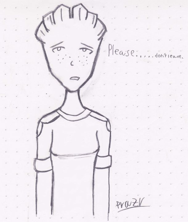 Please, don´t leave - Mass Effect Drawings