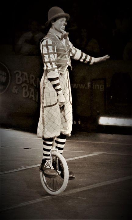 The Clown - Artist Jeremy Bach