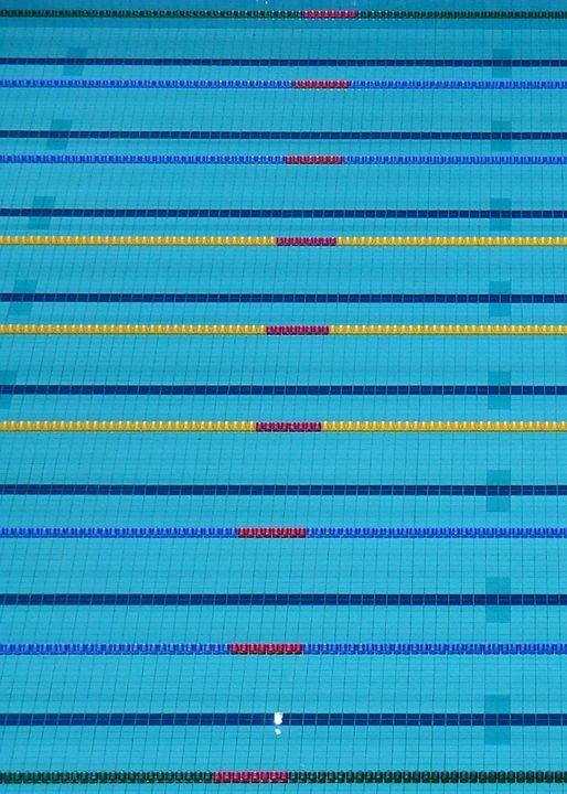 2012 Olympic Pool Portrait - AmuseboucheUK
