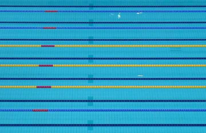 London 2012 Olympic Pool (L) - AmuseboucheUK