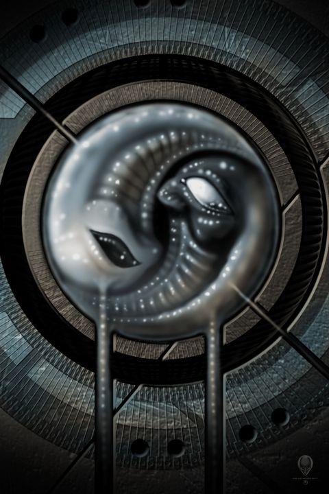 Alien and Yang - The Art of Erik Stitt