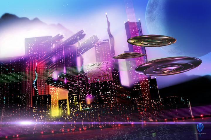 Alien Cityscape - The Art of Erik Stitt