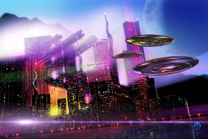 Alien Cityscape - The Art of Erik Stitt