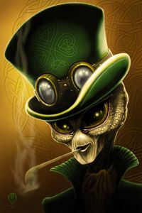 Leprechaun - The Art of Erik Stitt