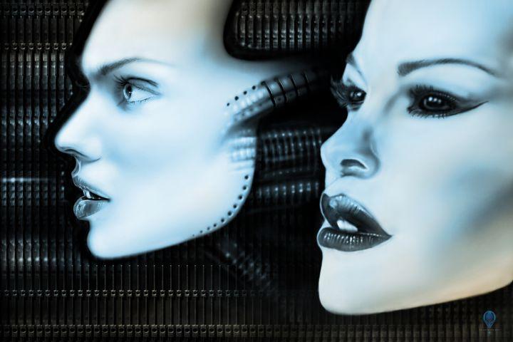 AI and Hybrid - The Art of Erik Stitt