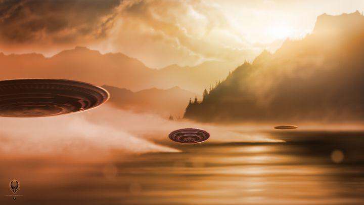 Aliens Awaken - The Art of Erik Stitt