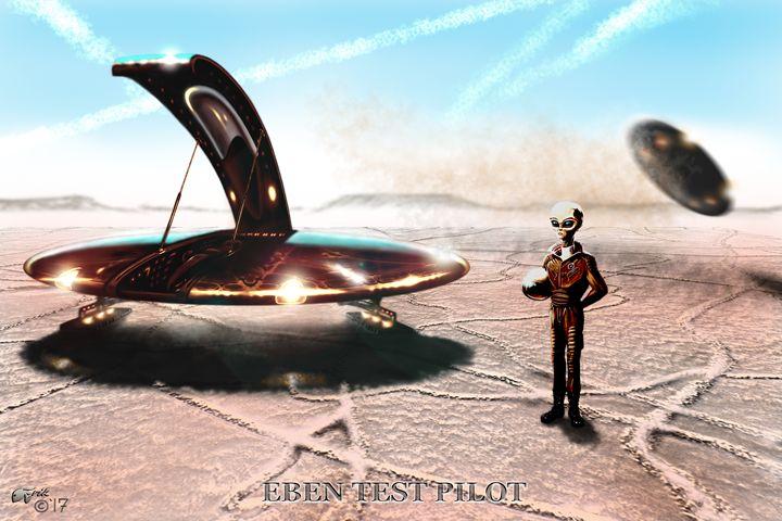 EBEN Test Pilot - The Art of Erik Stitt