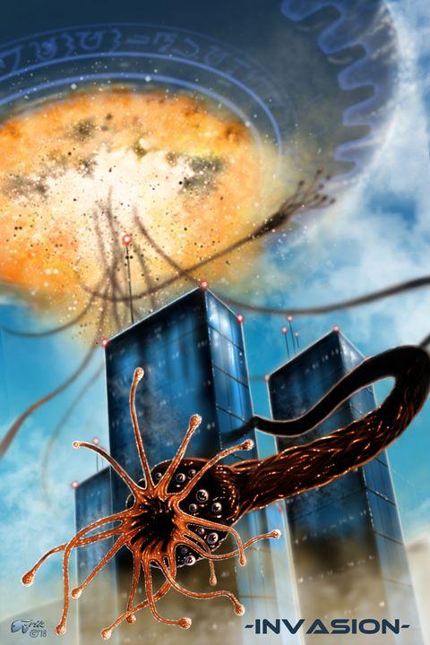 Invasion - The Art of Erik Stitt