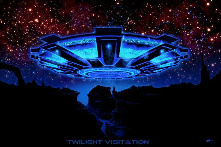 Twilight Visitation - The Art of Erik Stitt