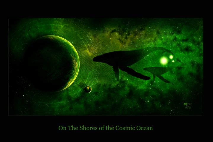 On The Shores of the Cosmic Ocean - The Art of Erik Stitt