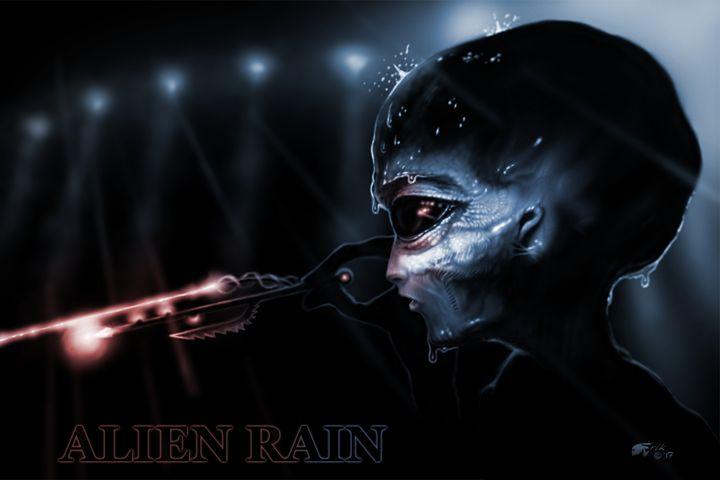 Alien Rain - The Art of Erik Stitt
