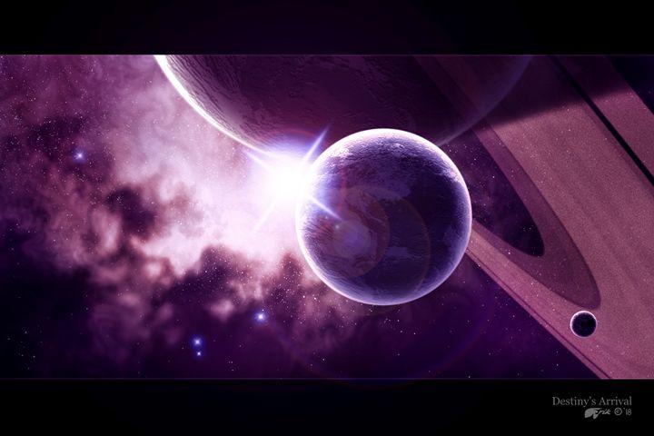 Destiny's Arrival - The Art of Erik Stitt