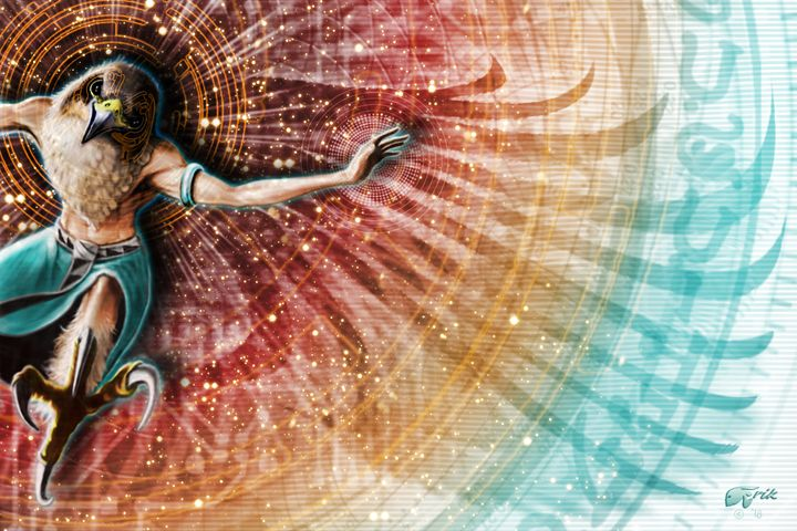 Shamanic Dream - The Art of Erik Stitt