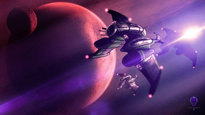 Gaian Space Force: Foo Fighters - The Art of Erik Stitt