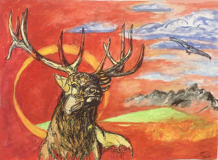 Red Elk - Marissa Danylik