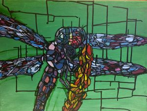 Dragonfly Stained