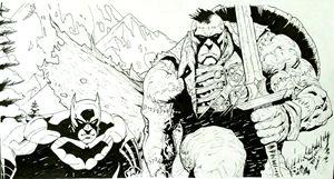 Batman and Frankenstein