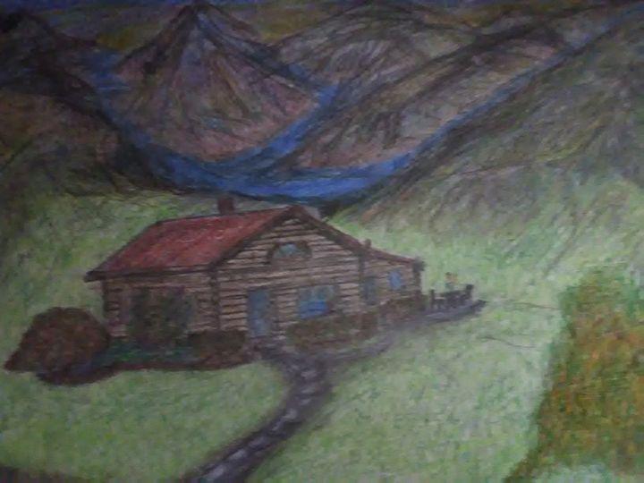 Cabin on the mountain side - Boni
