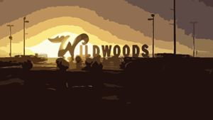 Wildwood Sign At Sunrise