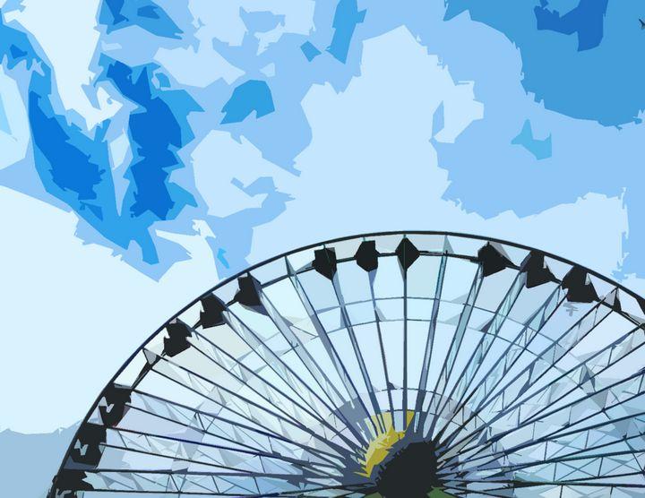 Ferris Wheel - Wildwood Boardwalk Art
