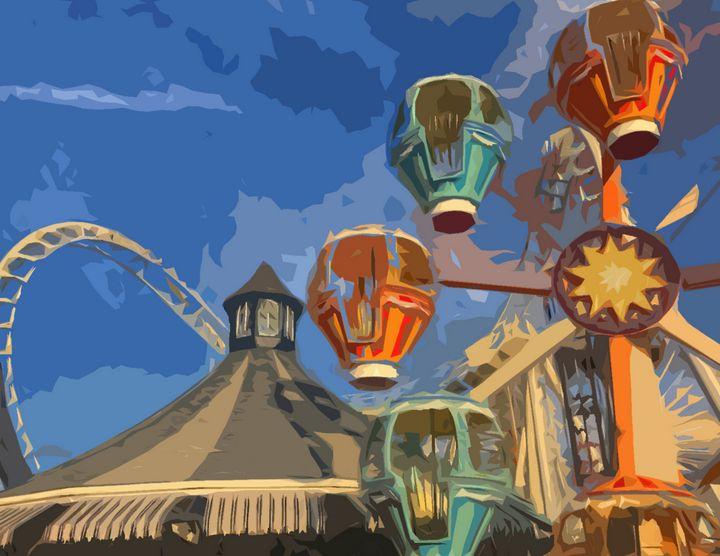 Morey's Piers Tea Cups - Wildwood Boardwalk Art