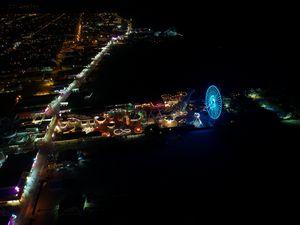 Mariner's Pier at Night