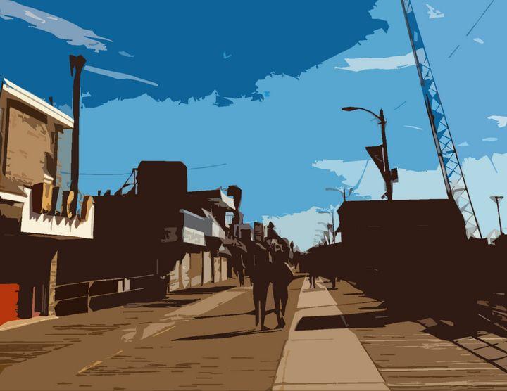 Wildwood Boardwalk - Wildwood Boardwalk Art