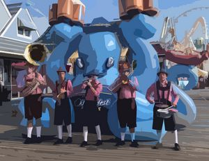 Oktoberfest - Wildwood Boardwalk Art