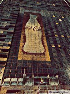 dark tasting coke