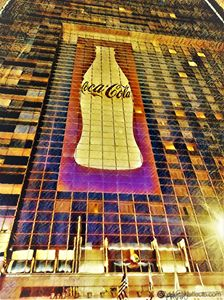 Coke Cola Gold Style