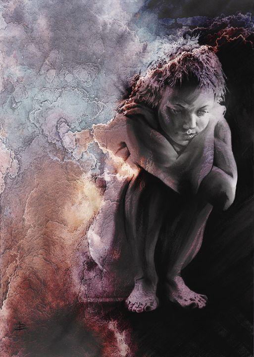 Quiescent II, textured - Paul Davenport GALLERY