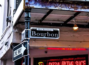 Bourbon Street in New Orleans - Modern