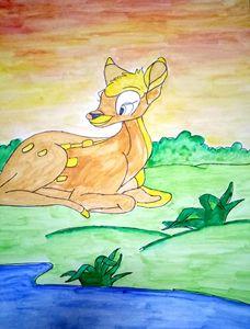 Lovable Deer