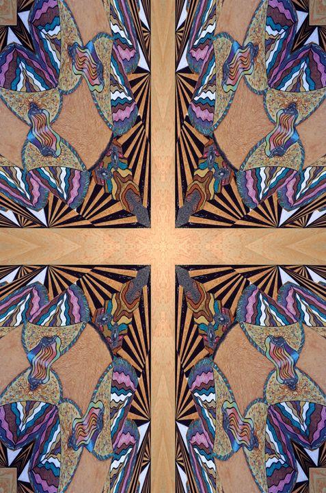Sacred Construction - Cross - Ricky Kendall