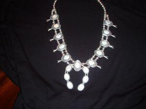 Navajo Squash Blossom Necklace - Overlook Art