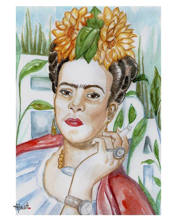 My Frida - AngelicaBalditArt