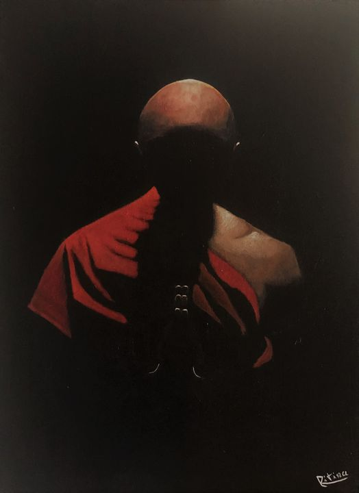 The Monk - Ritina's Gallery