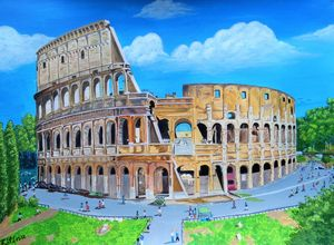 The Colosseum - Flavian Amphitheatre