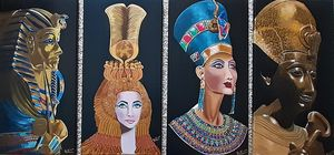 Egyptian Pharaohs And Queens